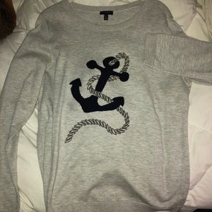 "Talbots L Sweater ""Anchors Away""!"
